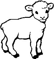 Drawn sheep cartoon black and white On clipart god of BeholdThe