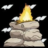 Altar clipart sacrifice Clip Abeka fire Sacrifice—with of
