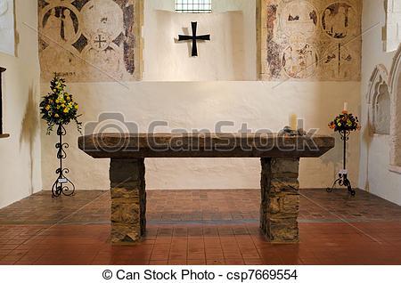 Altar clipart stone altar #9