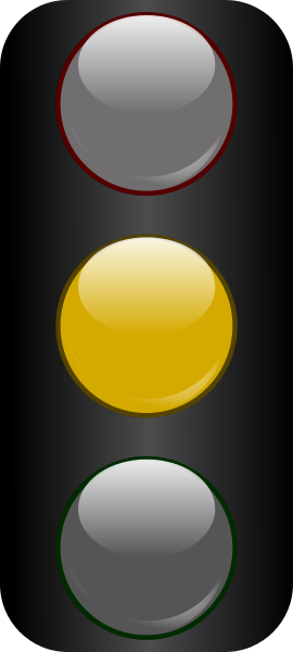 Traffic Light clipart amber Yellow glossy /travel/traffic_lights light traffic