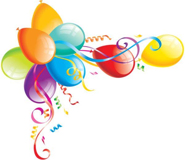 Amd clipart balloon ClipartHappy BirthdayBalloonsAlbumPhoto best bordures on