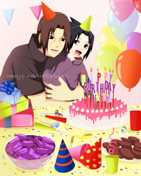 Amd clipart birthday Kakashi  com Sasuke birthday