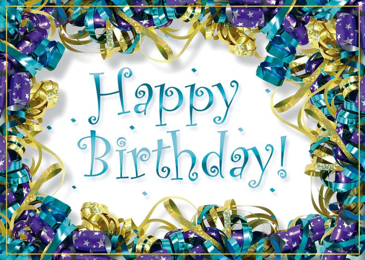 Amd clipart birthday A foil and Ribbons 14