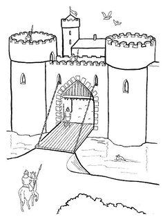 Amd clipart castle For Once pages draw Castle