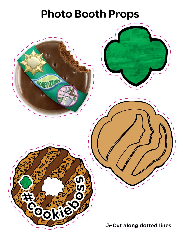 Amd clipart cookie Scouts Girl 69 Girls