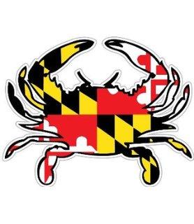 Amd clipart crab Maryland & Crab com Flag