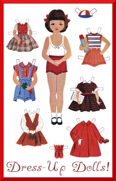 Amd clipart doll Paper Pin best 113 Dolls