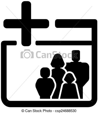 Amd clipart family  silhouette family Vectors isolated