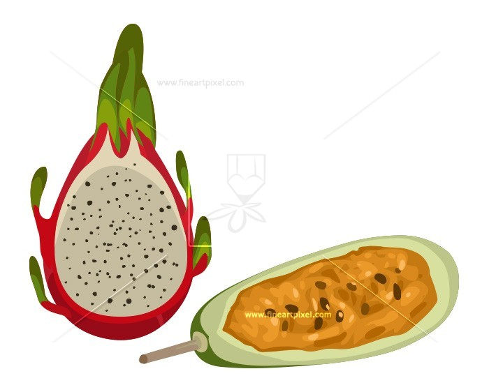 Amd clipart fruit And And Fruit Dragon –