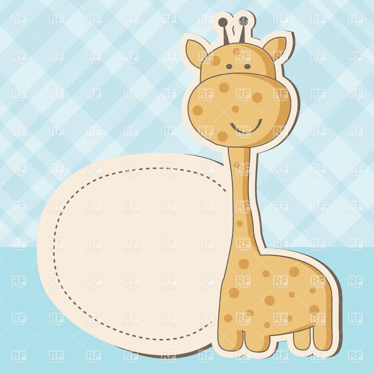 Amd clipart giraffe Clip Borders And Art Baby