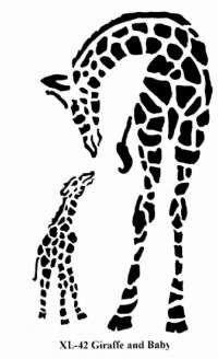 Amd clipart giraffe Pin more on Animals STENCIL