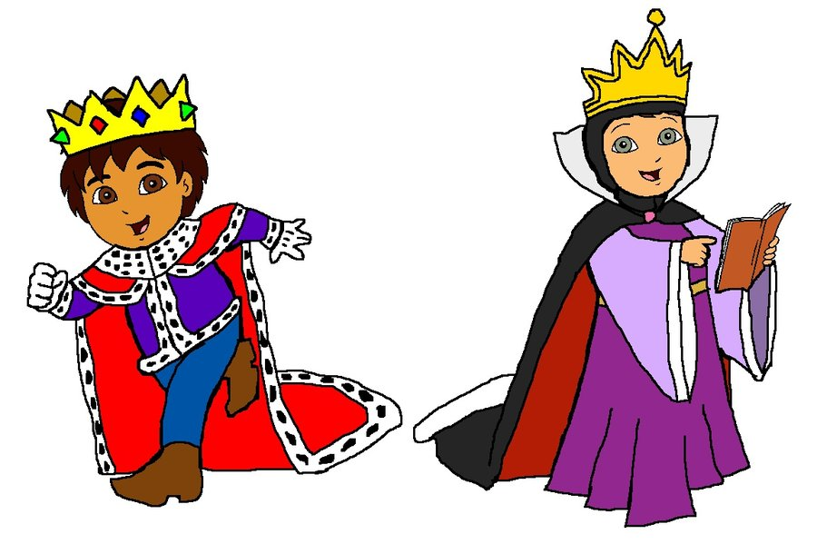Amd clipart king Queen Diego by DeviantArt Alicia