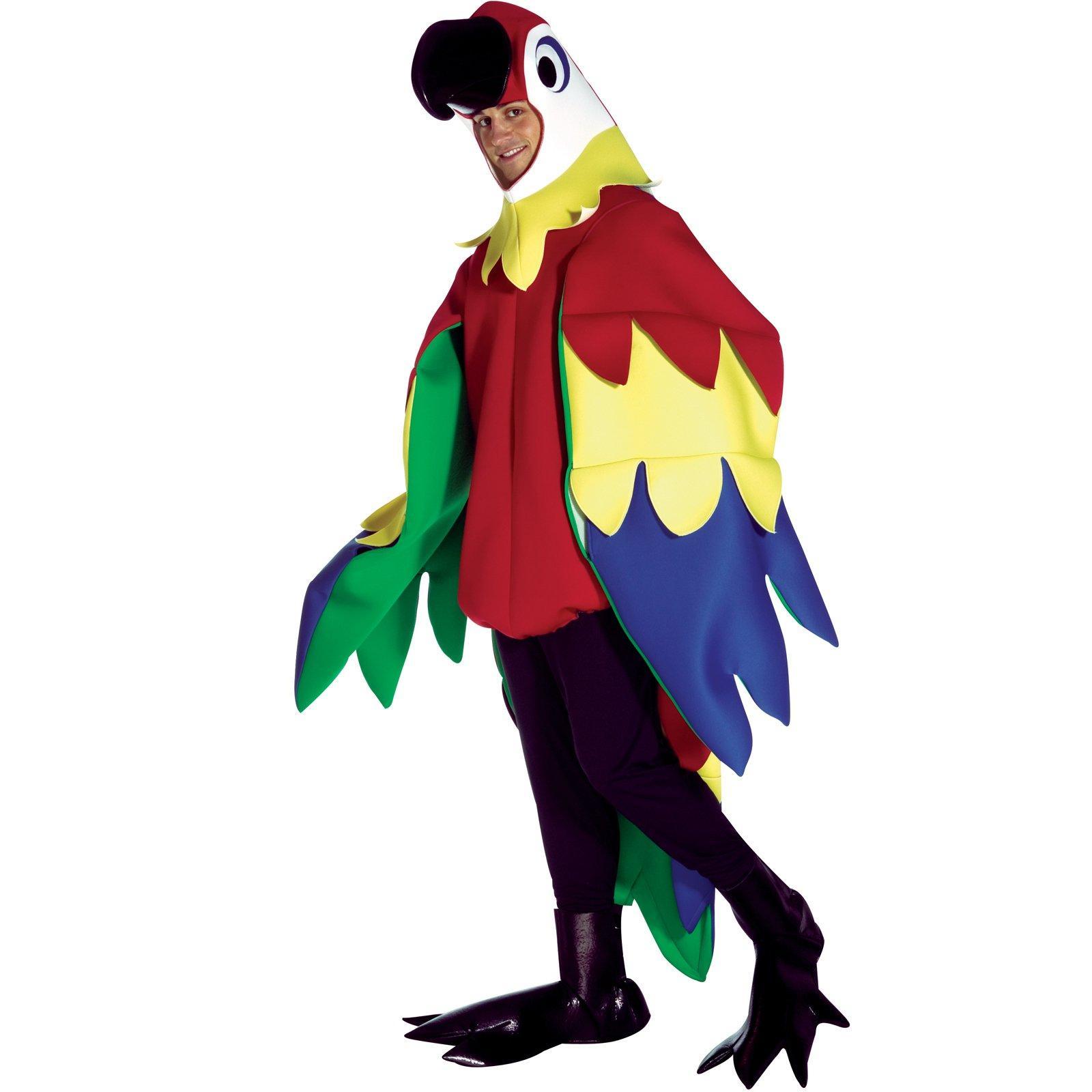 Amd clipart parrot Com  BuyCostumes Adult Parrot