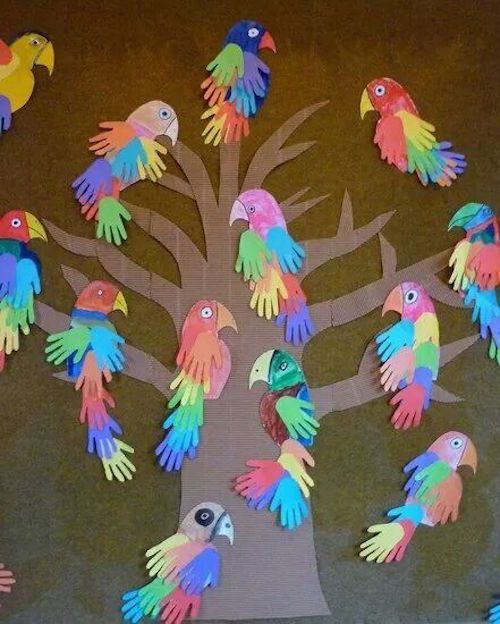 Amd clipart parrot Crafts on Jungle these Rainforest