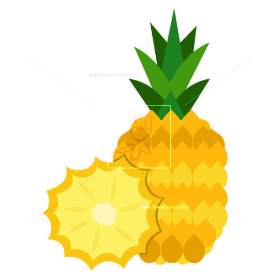 Amd clipart pineapple Pineapple Illustrations com Graphics Vector