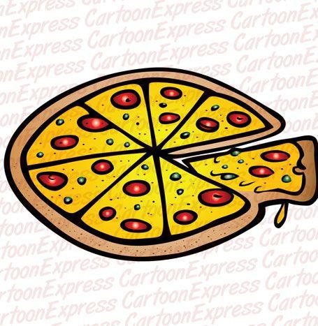 Amd clipart pizza Pepperoni vector Pinterest best cartoon