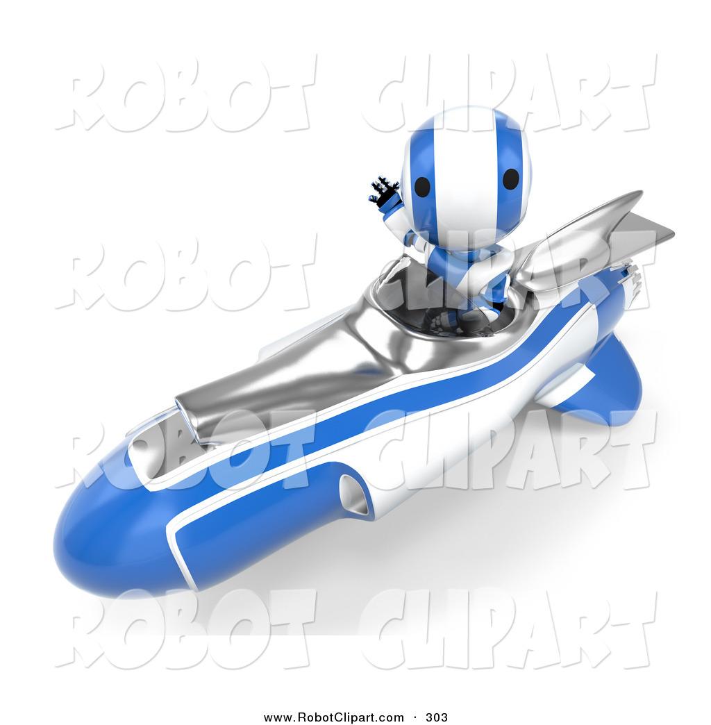 Amd clipart rocket Maru Blue a Designs While