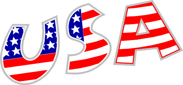 USA clipart America American and United Of