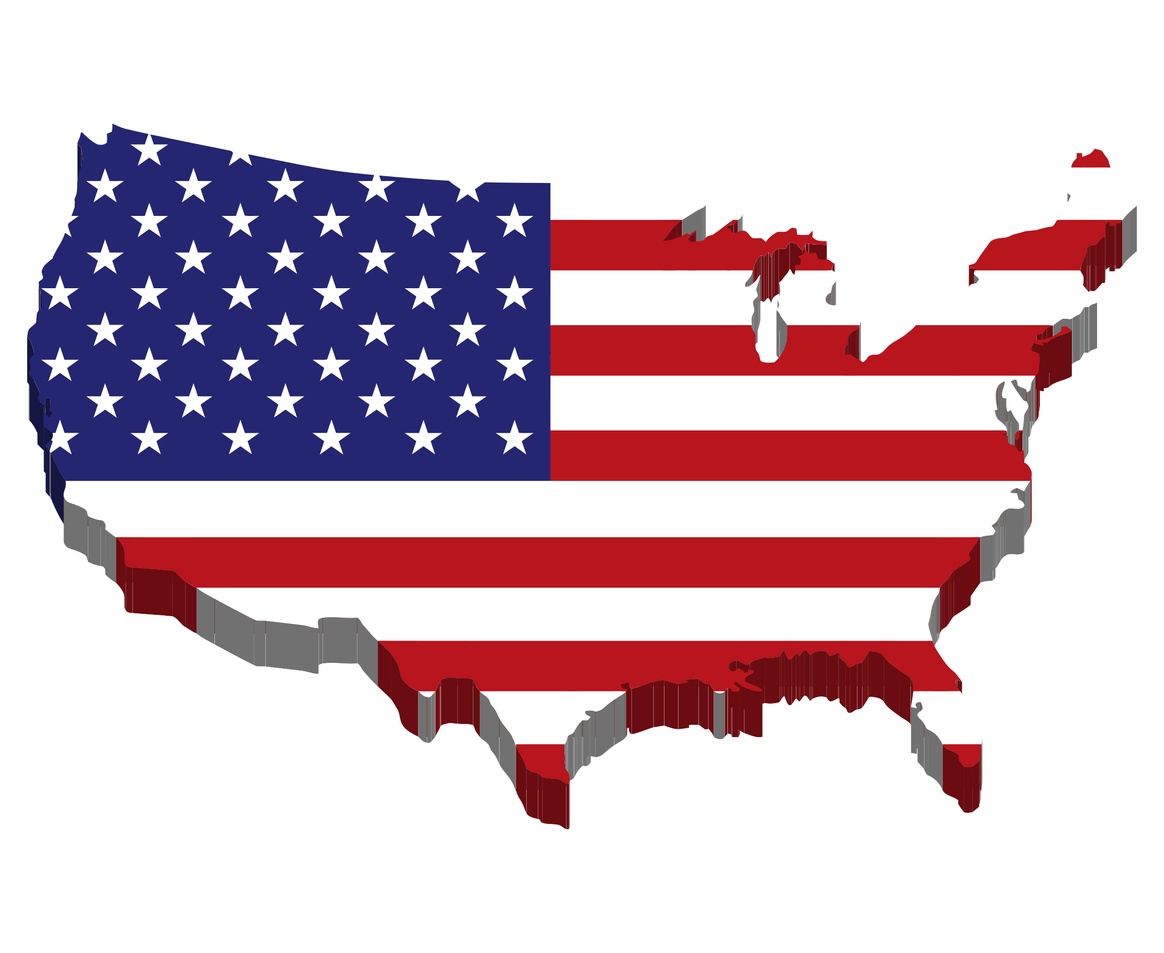 American Flag clipart worn Of Download States download Clipart