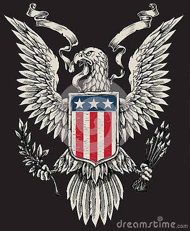 America clipart american eagle Eagle Celebrate  Linework Election