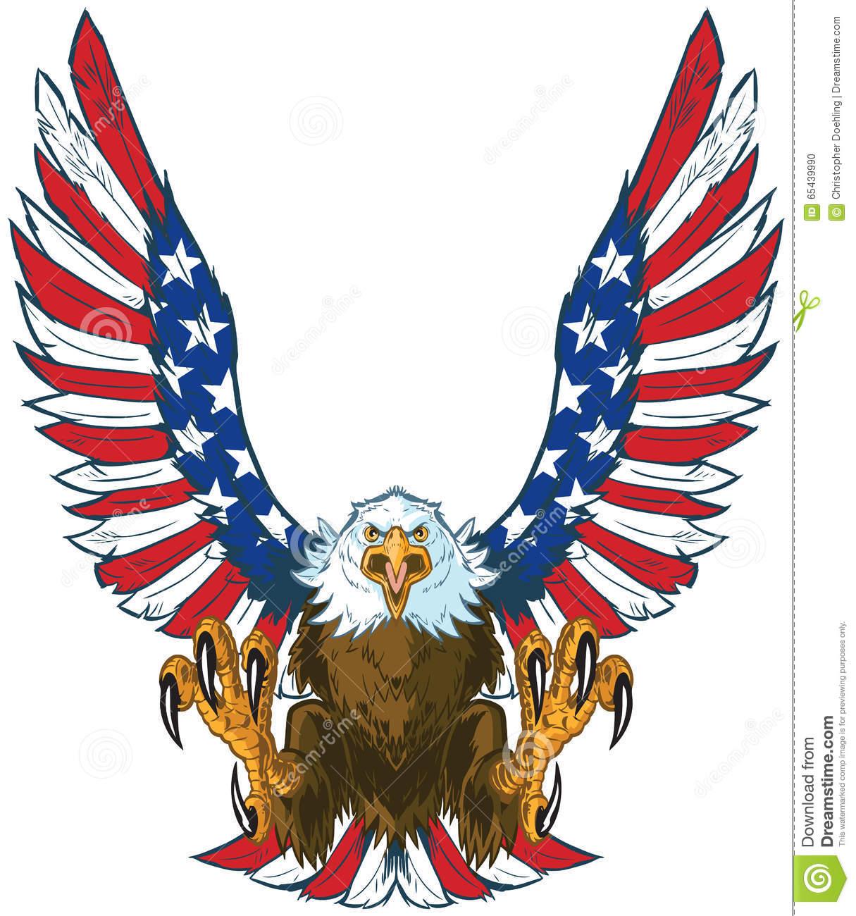 America clipart american eagle American Wings Art Flag
