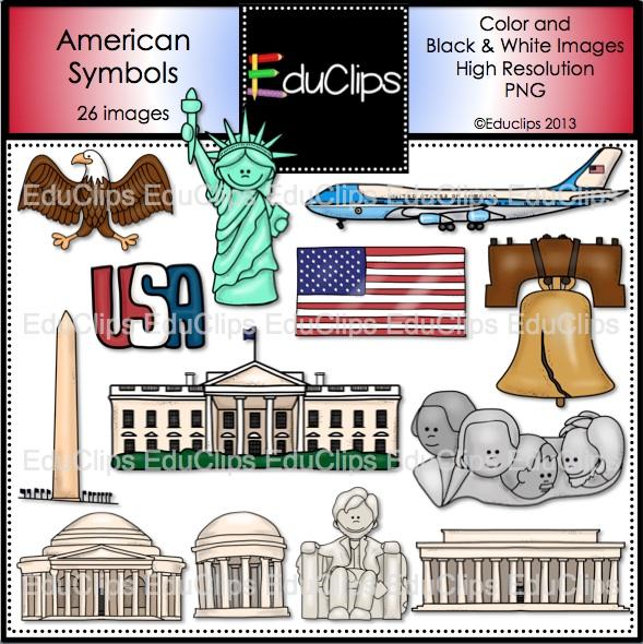 America clipart american symbol Symbols  American clipart Usa