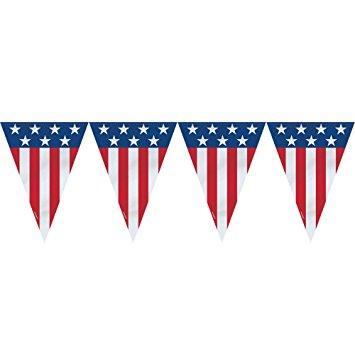 America clipart banner Banner America USA Flag July