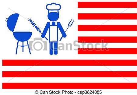 America clipart bbq A with Vector bbq of