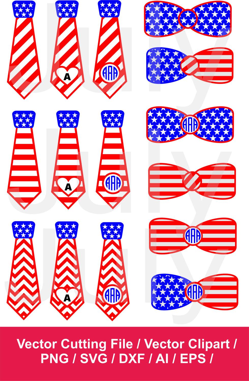 America clipart bow tie  svg SVG Tie American