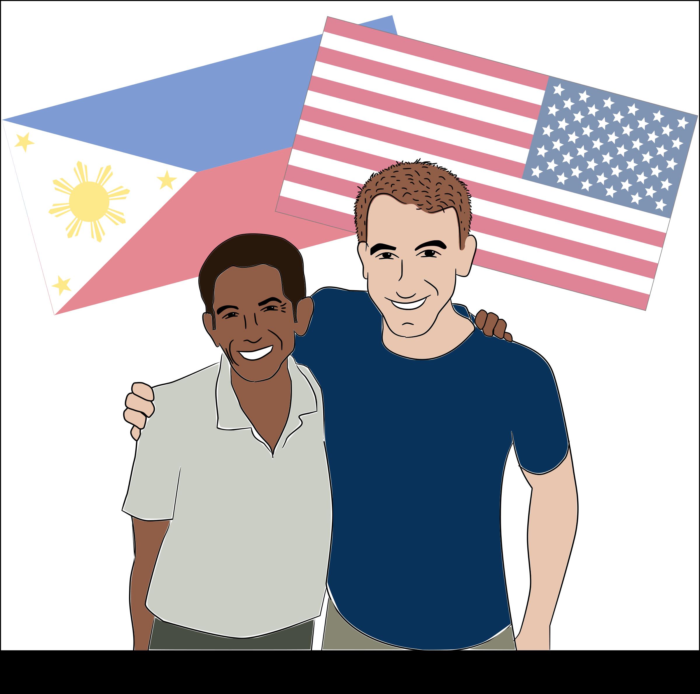 America clipart filipino IMAGE grandson and Grandfather BIG