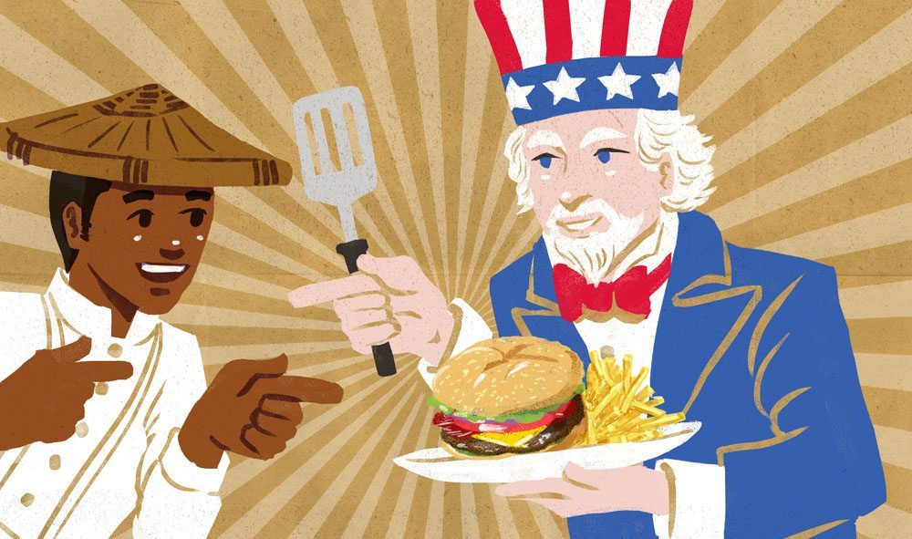 America clipart filipino In Why the so Food