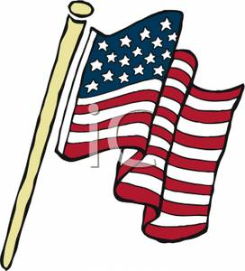 America clipart bbq A Picture Waving a Flag