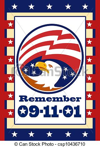 America clipart patriot day American of csp10436710 Clipart Poster