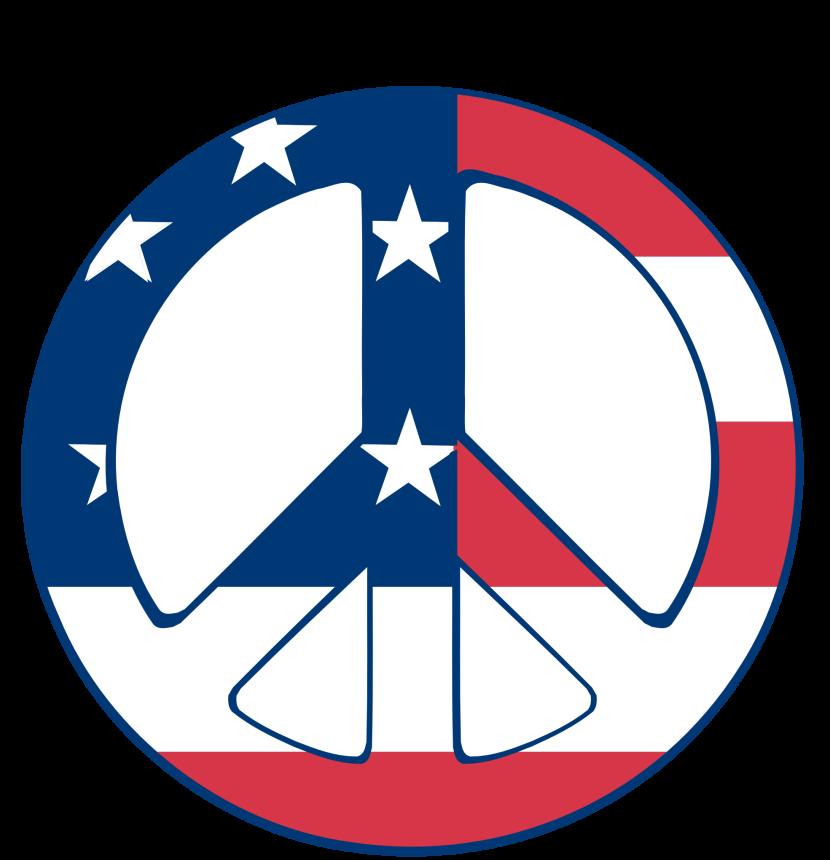 America clipart peace sign Com Peace Sign Clipart Peace