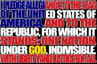 America clipart pledge allegiance Pledge Christart Art of Art