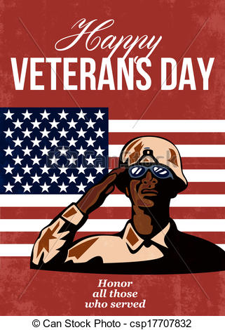 America clipart veterans day  Greeting Greeting Veterans Card