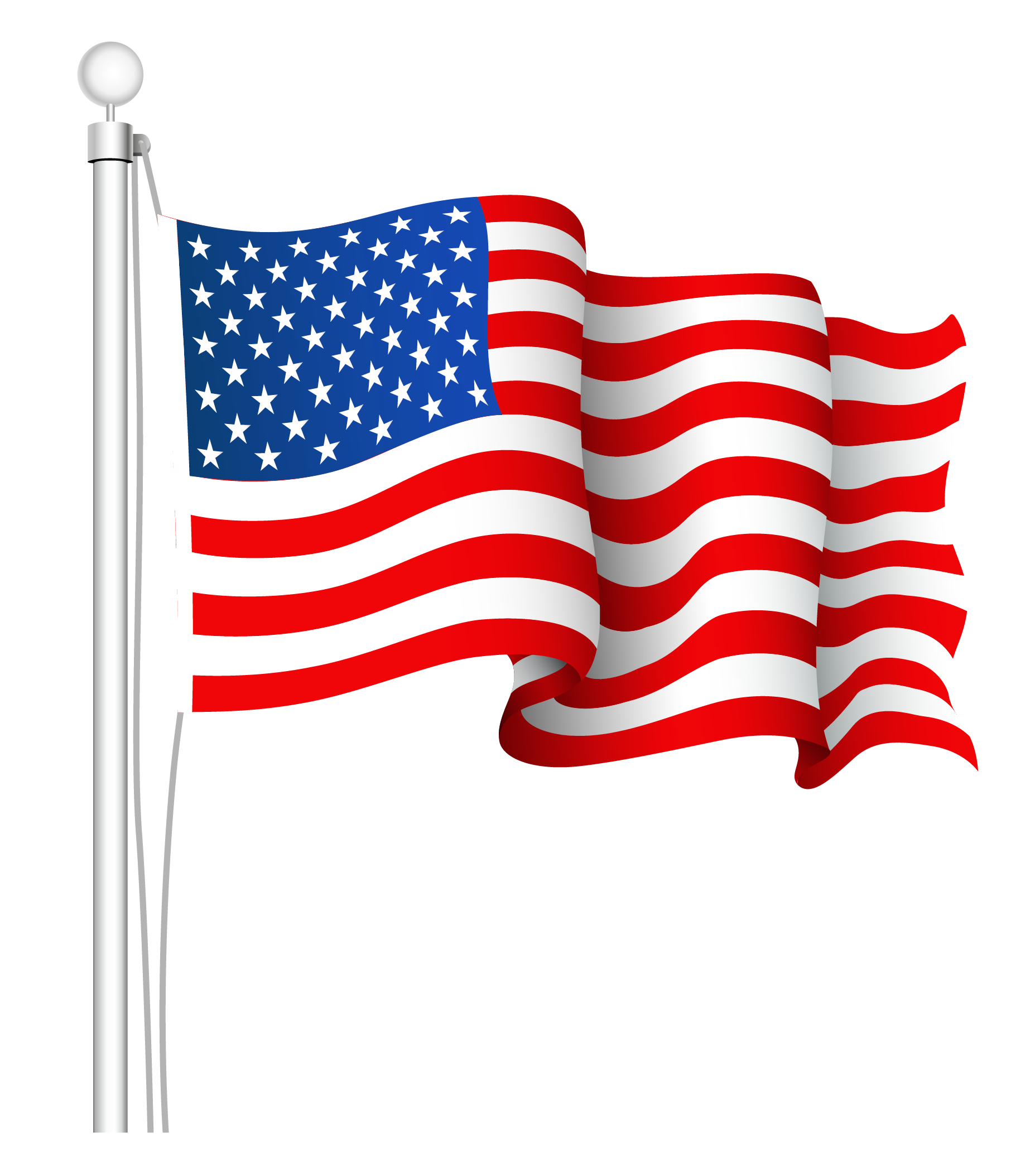 American Flag clipart stars and stripes Clip free American flag art