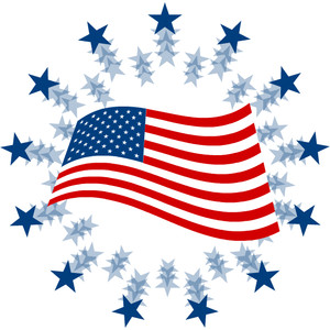 American Flag clipart stars and stripes Clip free flag flag art