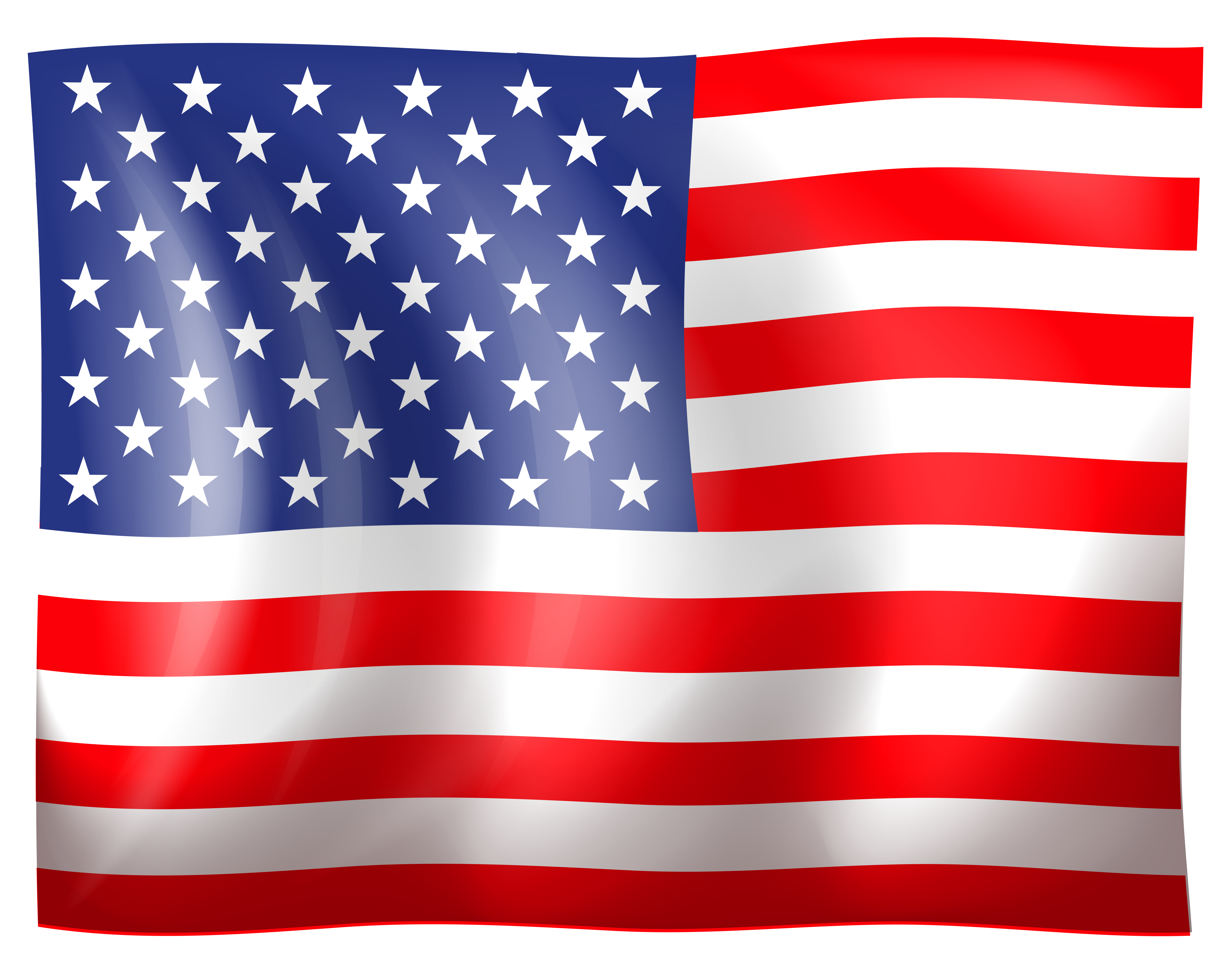 American Flag clipart amrican Clipart united flag clipartcow clipartcow