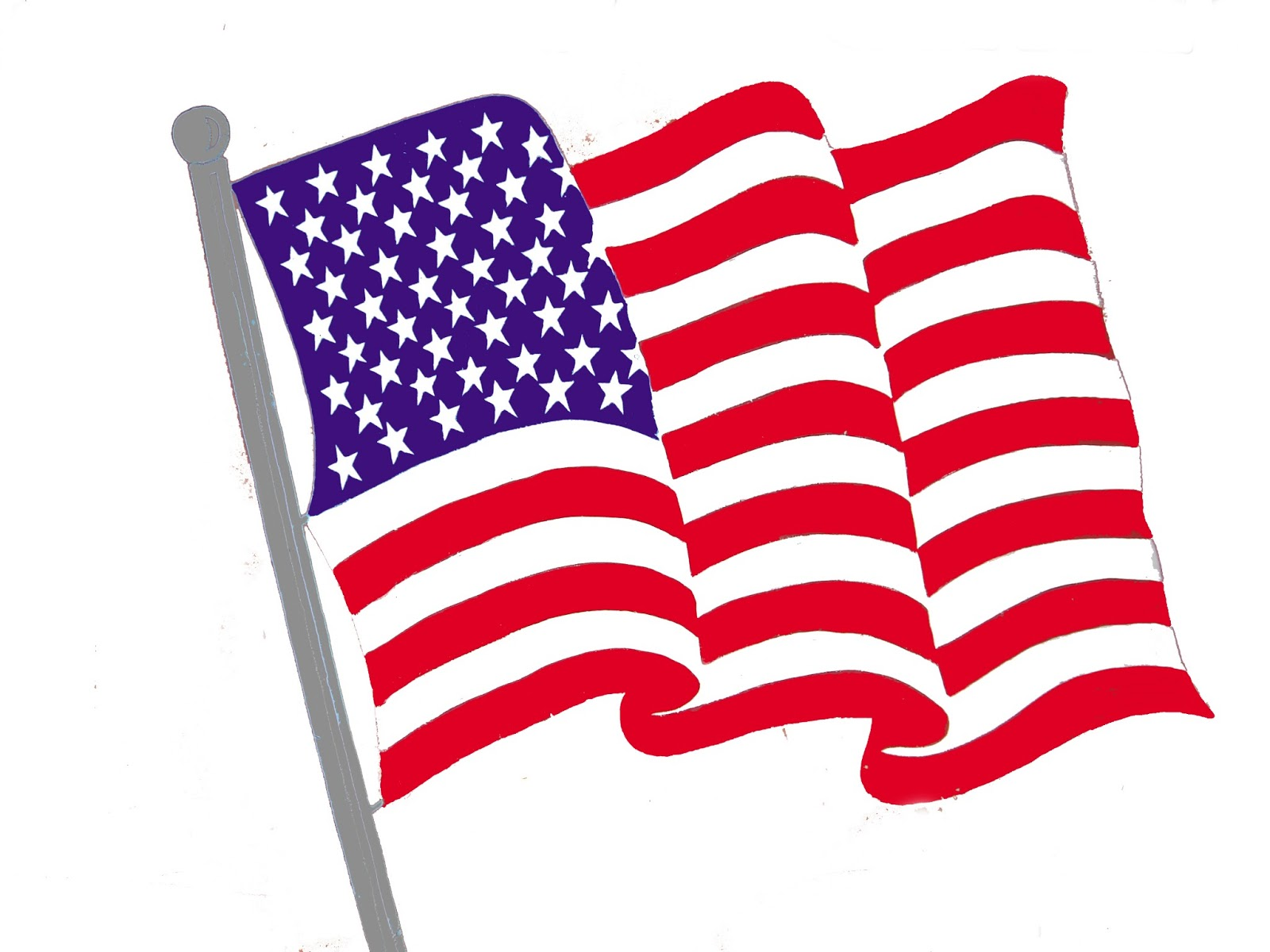 American Flag clipart American Cliparting states ima Flag