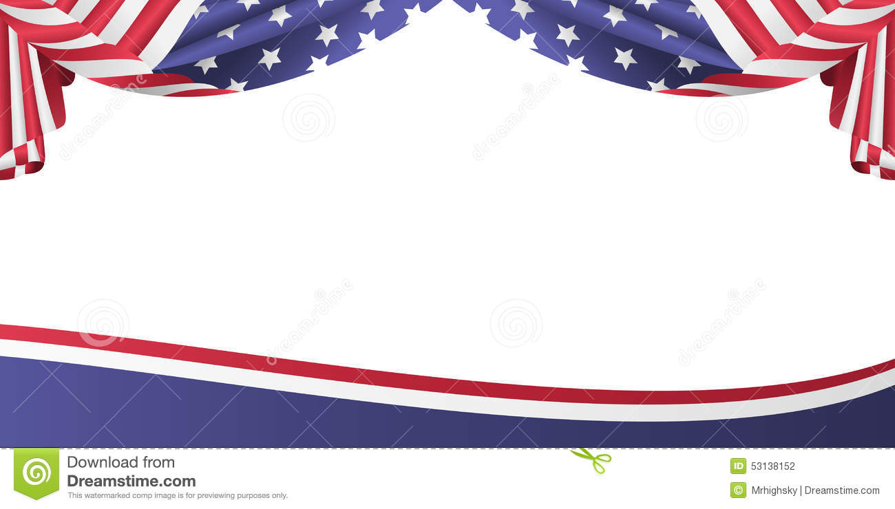 American Flag clipart banner Download Patriotic flag Free Cliparts