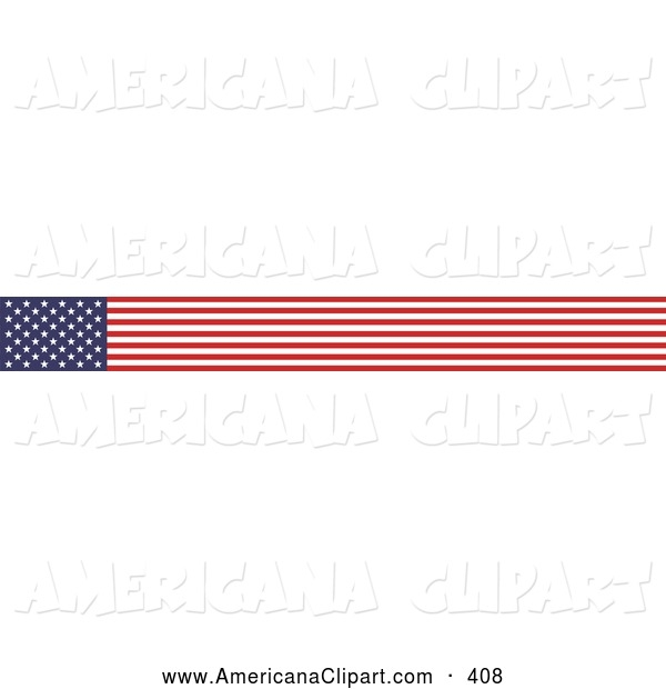 American Flag clipart banner And American Banner Art Banner