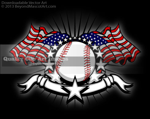 Baseball clipart bear Illustrator 4th Mascot 0 Art