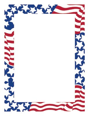 American Flag clipart border Clip Clip Art Flag Free