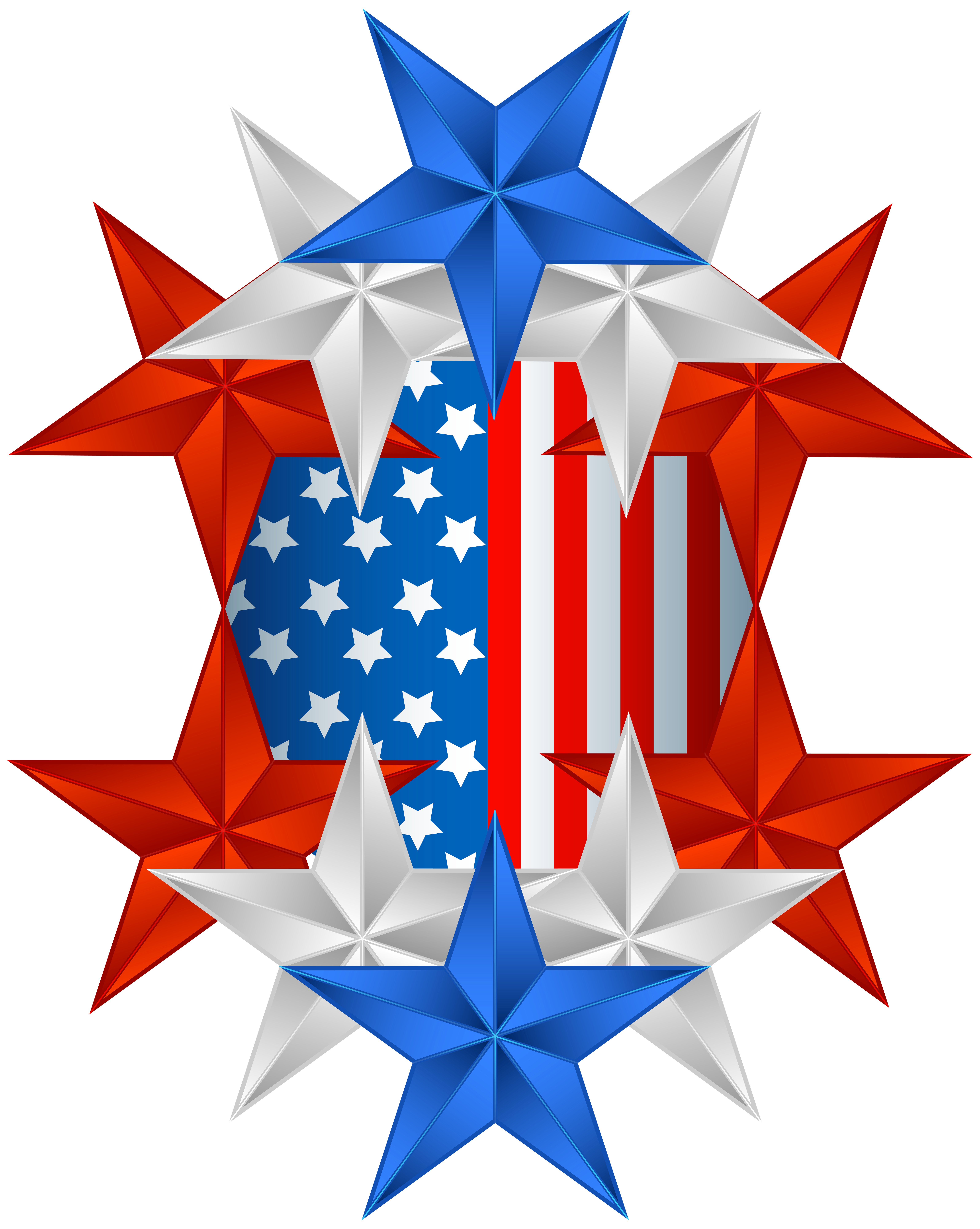 American Flag clipart christmas Image Art PNG Flag Gallery
