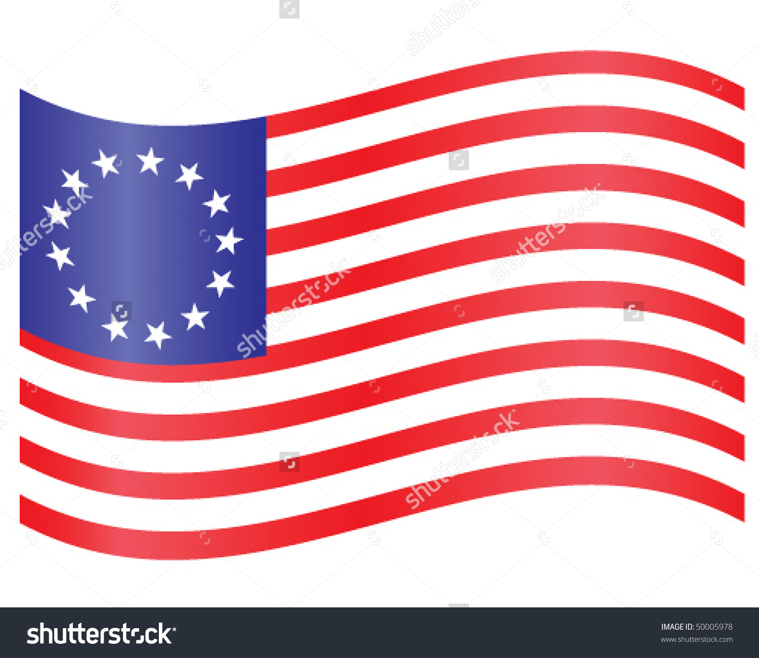American Flag clipart colonial American guy flag  the