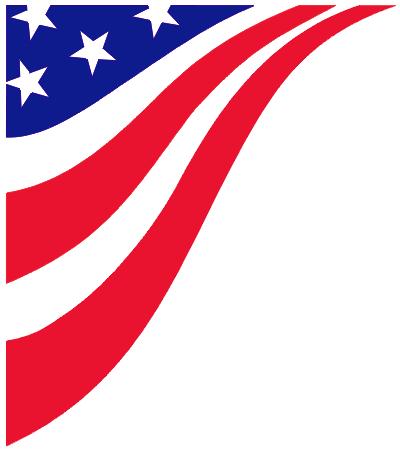 American Flag clipart corner border Cliparts Flag Clip day Free