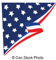 American Flag clipart shield EPS  vector American Flag