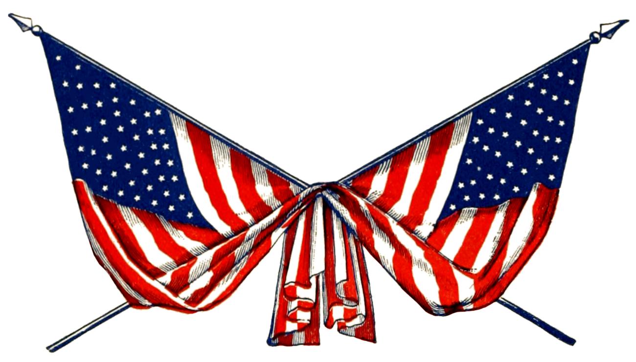 Civil War clipart gettysburg Art flags gallery crossed American