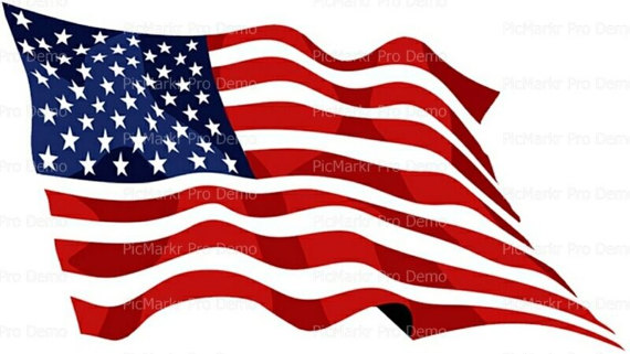 American Flag clipart cupcake Frosting Frosting Cupcake  Flag